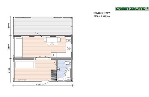 Дом 44.1 м² на участке 1 сот. - Дома в Адлере