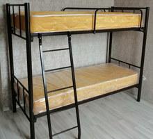 Кровати двухъярусные, односпальные на металлокаркасе - Мебель для спальни в Краснодарском Крае