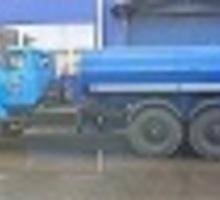 Автоцистерна (питьевая вода) на шасси Урал в наличии - Грузовые автомобили в Краснодаре