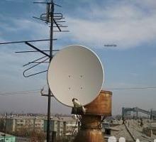Установка антенн Триколор, МТС, НТВ+, бесплатное тв - Спутниковое телевидение в Сочи