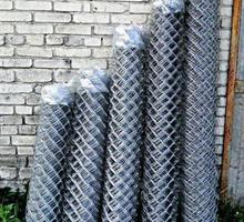 Прочная оцинкованная сетка рабица - Металлические конструкции в Новокубанске