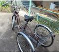 Велосипед трёхколесный взрослый грузовой - Спорттовары в Краснодаре