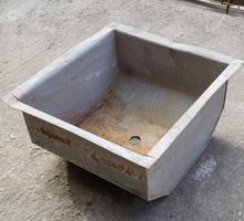 Ванна моечная (мойка) из оцинковки 50*50 - Сантехника, канализация, водопровод в Краснодаре