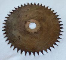 диск зубчатый стальной по древесине бу в отличном состоянии - Инструменты, стройтехника в Краснодаре