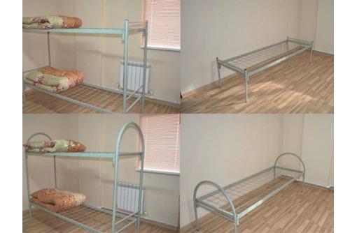 Кровати металлические для строителей оптом и в розницу с доставкой - Мебель для спальни в Адлере