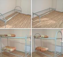 Кровати металлические для рабочих, общежитий, для комплектации бытовок. - Мебель для спальни в Апшеронске