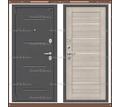 Входная дверь Porta S 104/П22 Антик Серебро/Cappuccino Veralinga 80мм. Россия : - Двери входные в Краснодаре