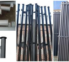Столбы металлические для забора оптом и в розницу с доставкой - Металлы, металлопрокат в Геленджике