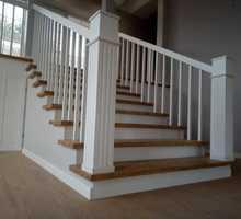 Изготовление деревянных лестниц на заказ - Лестницы в Краснодарском Крае