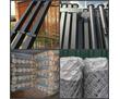 Крепкие, металлические столбы для забора, фото — «Реклама Адлера»