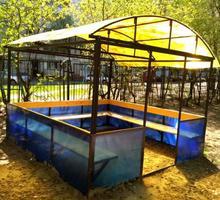 Беседка Семейная - Садовая мебель и декор в Усть-Лабинске