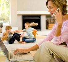 Подработка для молодых мам - Работа на дому в Краснодарском Крае
