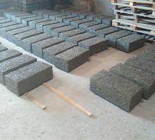 Арболитовый блок ручного прессования 600х300х200мм. - Кирпичи, камни, блоки в Краснодаре