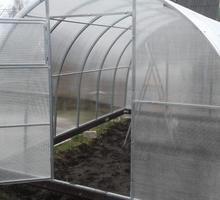 Новые теплицы, заводское производство - Садовый инструмент, оборудование в Апшеронске