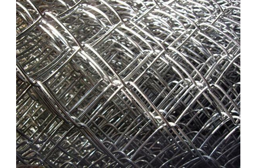 Сетка Рабица оцинкованная в рулонах - Металлические конструкции в Адлере