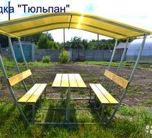 Беседки с лавочками и столиком - Садовая мебель и декор в Кореновске