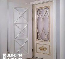 Дверь межкомная модель F2(эмаль,патина) - Двери межкомнатные, перегородки в Краснодаре