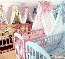 Балдахин на детскую кроватку с держателем - Детская мебель в Краснодаре