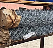 Сетка-рабица оцинкованная, прочная - Заборы, ворота в Краснодарском Крае