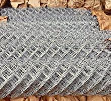 Прочная оцинкованная сетка рабица - Металлические конструкции в Тихорецке
