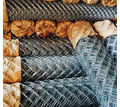 Сетка Рабица оцинкованная в рулонах оптом и в розницу с доставкой - Металлоконструкции в Славянске-на-Кубани