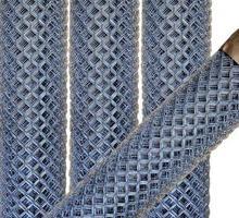 Сетка рабица оцинкованная - Металлические конструкции в Геленджике