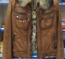 продам куртку, мех и кожа натуральные - Женская одежда в Краснодарском Крае
