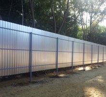 забор из профнастила - Заборы, ворота в Краснодаре