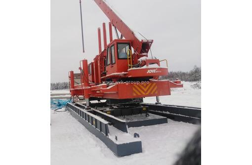 Сваевдавливающая установка, используемая в России – JVY-208A  (JOVE 208A) - Инструменты, стройтехника в Краснодаре