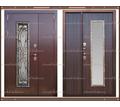 Входная дверь Джулия 1,8 мм Венге  2050 х 1100 со стекло-пакетом : - Двери входные в Краснодаре