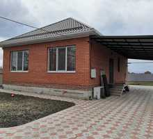Продаётся 1-эт. жилой дом с. Красносельское, ул. Длинная, 82/ 40/ 25 кирпич. - Дома в Краснодаре