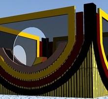 Торговые павильоны и островки для магазинов и торговых центров - Строительные работы в Краснодарском Крае