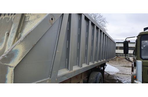 Самосвальный алюминиевый полуприцеп - Грузовые прицепы в Белореченске