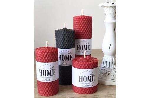 Интерьерные свечи из вощины - Предметы интерьера в Армавире