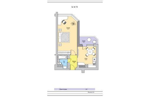 Продаю 1-к квартиру 44м² 2/20 этаж - Квартиры в Анапе
