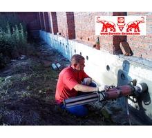 Бурение вентиляционных отверстий в заборе для продувки двора - Заборы, ворота в Краснодаре
