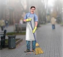 Требуются дворник -уборщики городских улиц и придомовой территории. - Рабочие специальности, производство в Краснодарском Крае