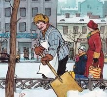 Требуется Дворник для уборки придомовой территории. - Рабочие специальности, производство в Краснодарском Крае