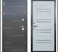 Входная дверь Кристэл Скол дуба белый 100 мм Россия - Двери входные в Краснодарском Крае