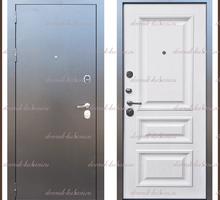 Входная дверь Версаль Антик серебро / Дуб беловежский 90 мм Россия - Двери входные в Краснодаре