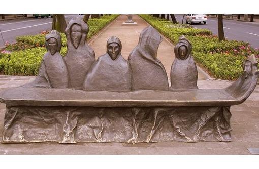 Скамейки и лавочки скульптурные,креативные из металла. - Предметы интерьера в Белореченске