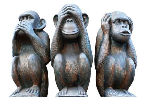 """Скульптура креативная""""Три обезьяны""""(неделания зла) - Предметы интерьера в Белореченске"""