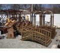 Беседки, перголы, крыльцо, мостики, вазоны деревянные - Ландшафтный дизайн в Краснодарском Крае
