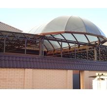 Изготовим и смонтируем: навесы, козырьки, роллеты, заборы - Металлические конструкции в Краснодаре