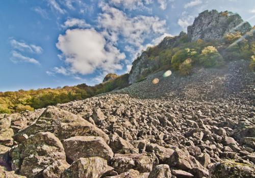 Каменное море в Краснодарском крае - горный хребет с многовековой историей ФОТО