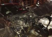 «На машины смотреть страшно»: в Геленджике столкнулись две иномарки , фото — «Рекламы Геленджика»