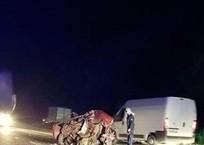 Под Кропоткиным водитель «семерки» после столкновения с КамАЗом, вылетел из салона, где был раздавлен фурой  ФОТО, фото — «Рекламы Кропоткина»