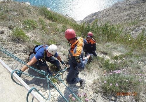 Туристка упала с обрыва, делая селфи в Анапе