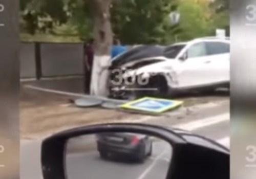 Три автомобиля столкнулись под Анапой ВИДЕО