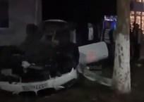 В Белореченске автомобиль на большой скорости врезался в припаркованную машину ВИДЕО, фото — «Рекламы Белореченска»